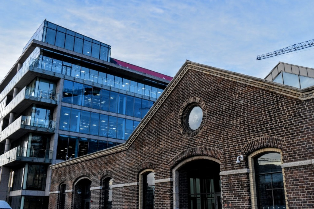 AirBNB's European Headquarters in Dublin.